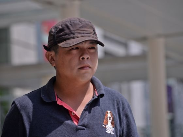 Ông Chew đến tòa án hôm 30-11 - Ảnh: Today Online.