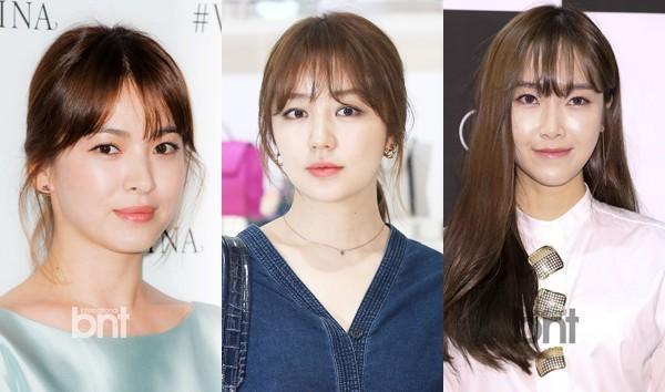 Song Hye Kyo, Yoon Eun Hye và Jessica - 3 người đẹp Hàn Quốc đang hoạt động showbiz ở Trung Quốc.