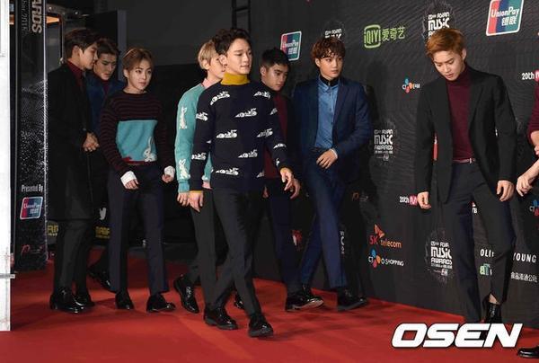 Một trong những chiến thắng của EXO là giải Phong cách châu Á.