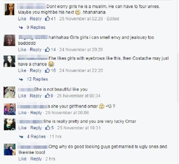 Những bình luận trái chiều của cư dân mạng quốc tế dành cho nhan sắc của cô gái này.