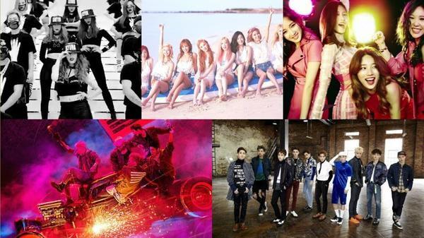 Youtube vừa công bố 10 MV Kpop đông lượt xem nhất 2015.