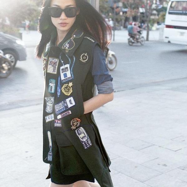 Người mẫu, stylist, biên tập viên thời trang nổi tiếng Trương Thanh Trúc
