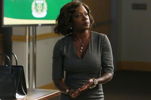 "HOW TO GET AWAY WITH MURDER - ""The Night Lila Died"" - In flashbacks, we start to piece together what really happened the night of Lila's murder. In present day, Annalise takes on a priest who is accused of murdering another priest. Meanwhile, Connor and Oliver take things to a new level in their relationship, and Wes and Rebecca continue to grow suspicious of each other, on part one of the season finale of ""How to Get Away with Murder,"" THURSDAY FEBRUARY 26 (9:00-10:00 p.m., ET) on the ABC Television Network. (ABC/Mitchell Haaseth) VIOLA DAVIS"