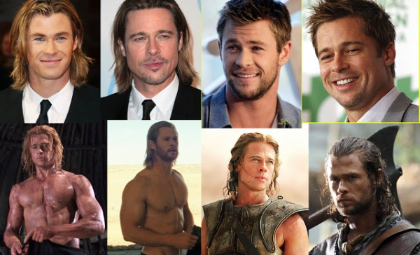 Brad Pitt vs Chris Hemsworth