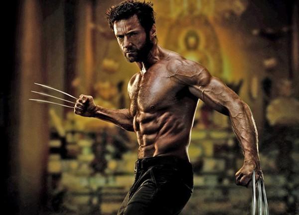 Nhiều người từng mê mệt một Wolverine gân guốc như thế