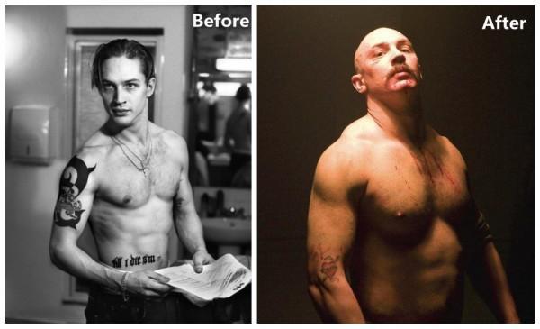 Vai diễn Bronson của Tom Hardy được đánh giá là nặng cả về thể chất lẫn tâm lý, và anh đã làm được.