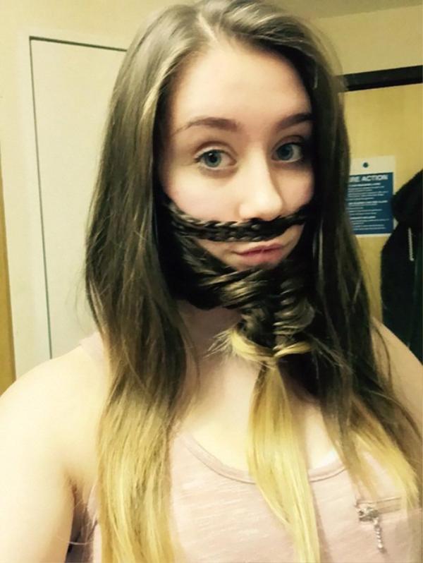 Chỉ mất vài phút để có thể có một bộ râu ưng ý nếu như bạn có một mái tóc đủ dài
