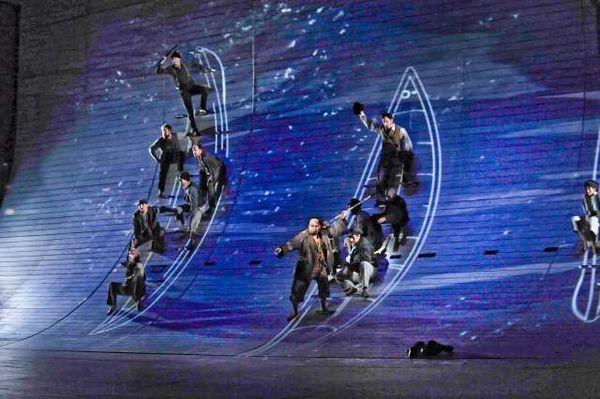 """Vở opera mang tên """"Moby Dick"""" được nhà hát San Diego dàn dựng."""