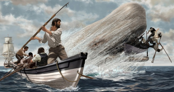 Tương truyền, Moby Dick là một con cá voi khổng lồ và hung dữ.