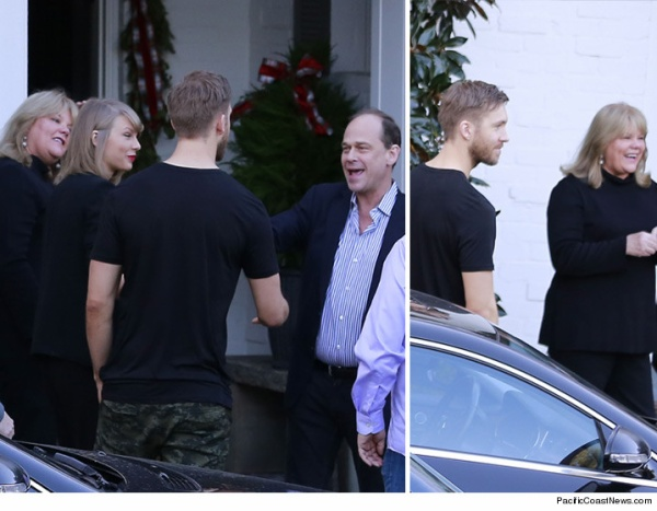 Taylor đưa bạn trai Calvin đến gặp bố mẹ.