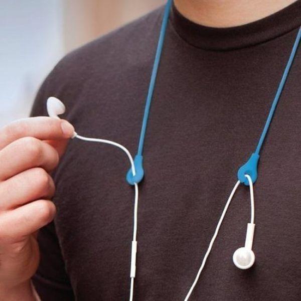 Dây móc tai nghe vừa đẹp vừa tiện.