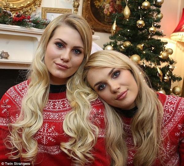 Shannon và Sara giống nhau như hai giọt nước