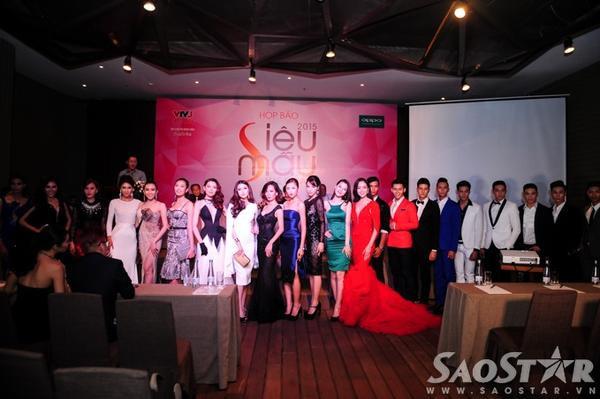 Vắng bóng Phan Linh trong top 27 thí sinh vào chung kết Siêu mẫu Việt Nam 2015.