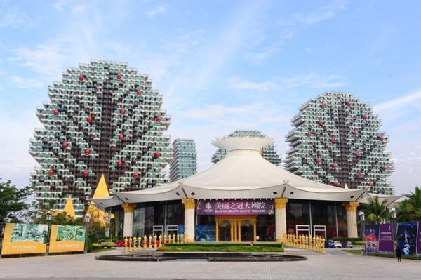 Công tác chuẩn bị tại khách sạn Beauty Crown (Tam Á, Trung Quốc) đã hoàn tất.