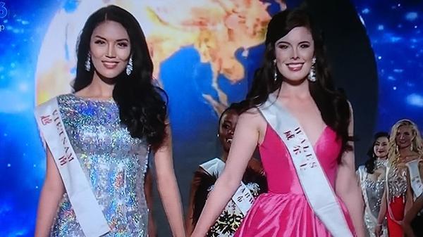 Cô cùng các người đẹp ra chào ban giám khảo, khán giả khi đêm chung kết bắt đầu. Sau khi những người dẫn chương trình công bố xong top 10, đại diện của Việt Nam bất ngờ được xướng tên với danh hiệu Hoa hậu được yêu thích nhất, qua đó nhận chiếc vé thứ 11 vào vòng trong. Mặc dù trượt top 5 song thành tích của Lan Khuê đã tạo ra cột mốc mới cho lịch sử nhan sắc Việt, bởi danh hiệu cao nhất mà nước ta đoạt được tại đấu trường Miss World trước đây chỉ là top 15 - hoa hậu Nguyễn Thị Huyền dự thi năm 2004.
