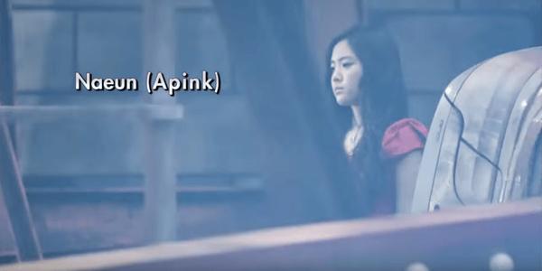 Ngoài Chorong, A Pink còn một thành viên khác là Na Eun cũng diễn xuất trong MV Breath của đàn anh. MV Breath được lên kệ hồi tháng 9/2010.