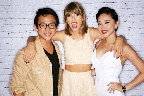Taylor Swift khen Tóc Tiên đẹp