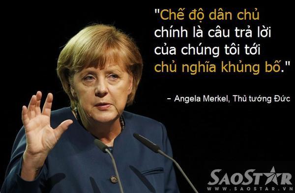 Tuyên bố đanh thép của Angela Merkel.