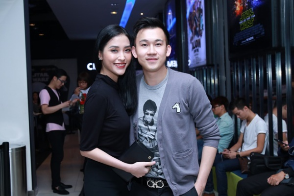 Diễn viên Mai Hồ và ca sĩ Dương Triệu Vũ.