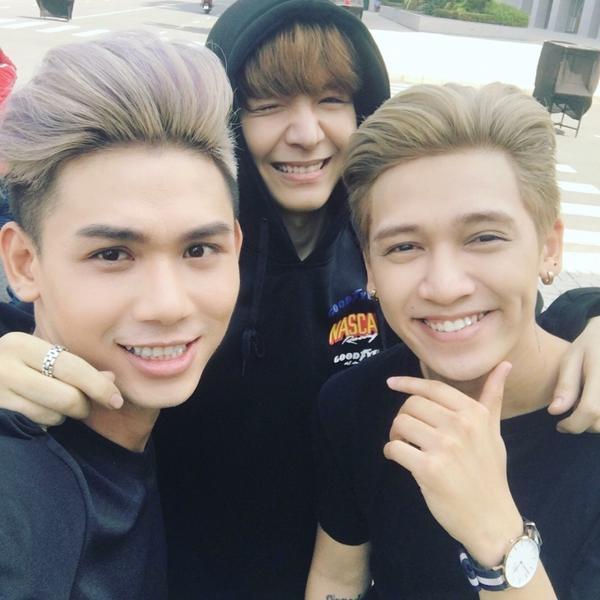 MV còn có sự tham gia của Đại Nhân, Next top Quỳnh Châu, Kelvin Khánh và Thái Trinh.