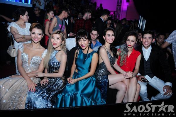 Các thí sinh của Bước nhảy hoàn vũ 2015 cũng đến tham dự