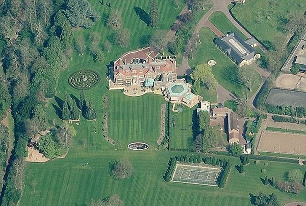 Bishopsgate House, Englefield Green, Egham, Surrey. TW20 0XT Walid Juffali divorce story ***INTERNET IMAGE FROM BING MAPS***