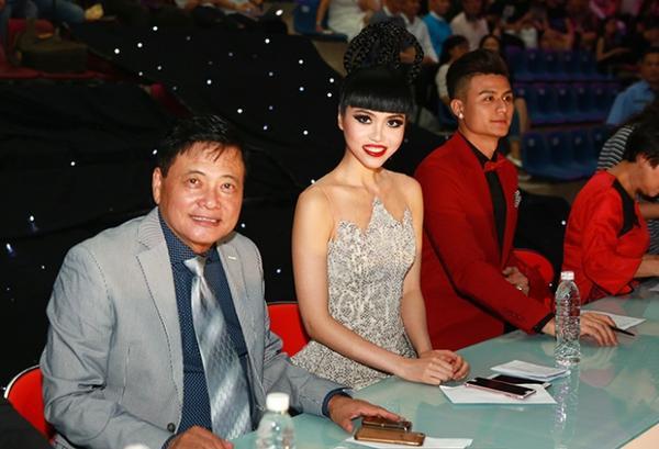 Jessica Minh Anh Giam Khao CK Sieu Mau 2015 3