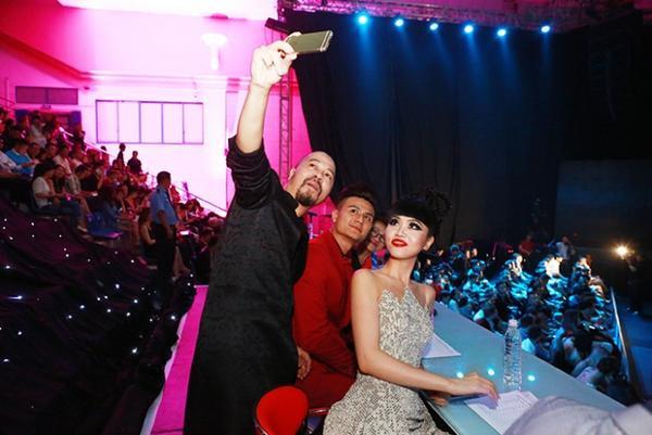 Jessica Minh Anh Giam Khao CK Sieu Mau 2015 7