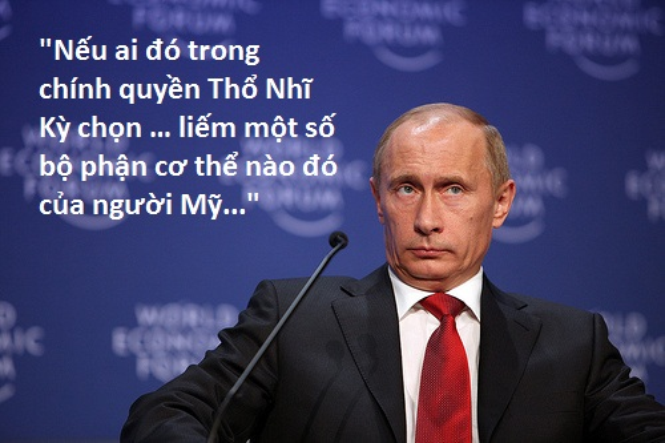 2. Putin phát ngôn sốc