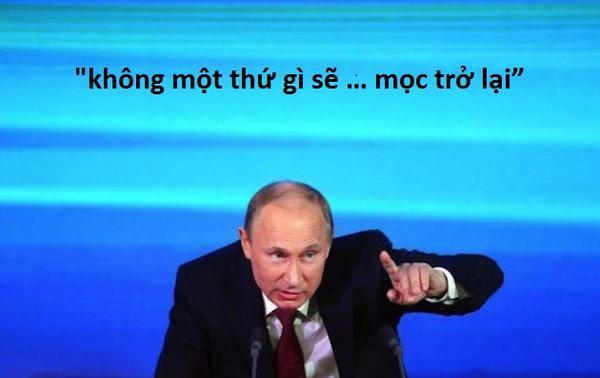 3. Putin phát ngôn sốc