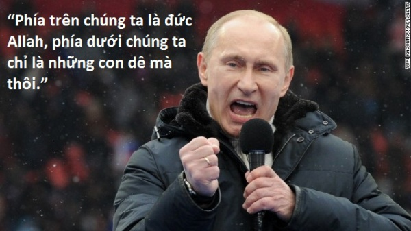 6. Putin phát ngôn sốc