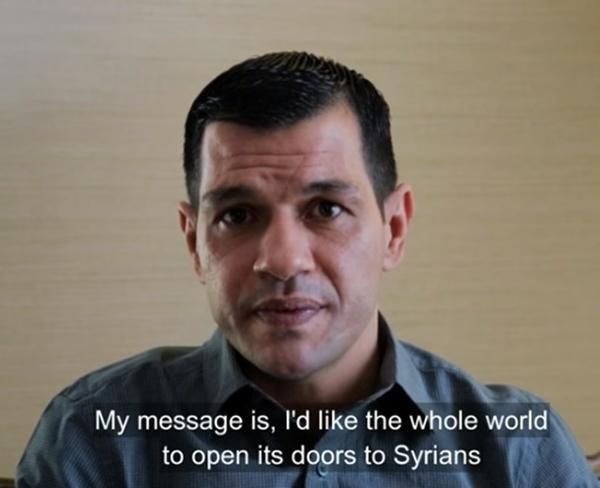 Abdullah hy vọng mọi người hãy mở cửu với người Syria.