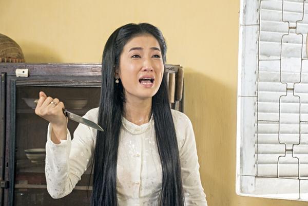 Quynh Lam bi chong hat hui - Phim Hai Nguoi Vo (4)