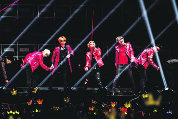 Big Bang có tour diễn khá thành công ở Trung Quốc trong năm 2015.