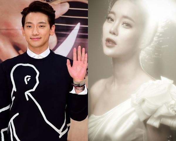 Rain và Baek Ji Young biểu diễn tại concert đài Triết Giang.