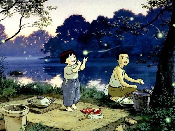 Dù có đói khổ, hai anh em Seita và Setsuko vẫn ở bên nhau