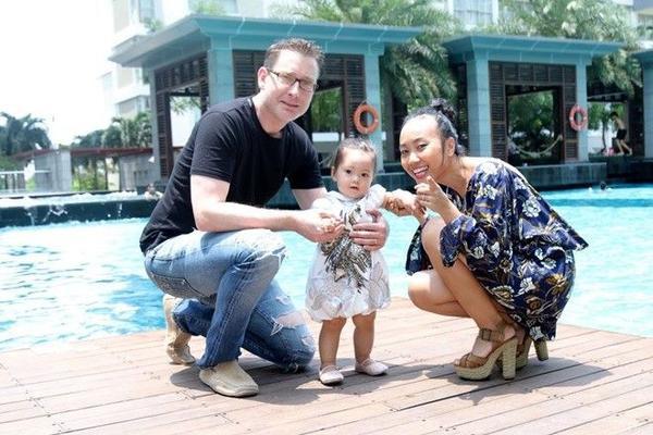 gia đình Đoan Trang