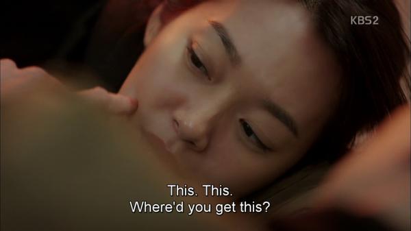 """Mắt chạm mắt, Young Ho tỏ ra ngạc nhiên khi nhìn thấy đôi má lúm đồng tiền của người đẹp. Anh chạm vào má Joo Eun và nói: """"Tôi chưa từng thấy cái này bao giờ. Làm sao cô có được nó vậy?"""". Tình tiết khá sáo mòn nhưng lại dễ thương này có 344.067 lượt khán giả theo dõi."""