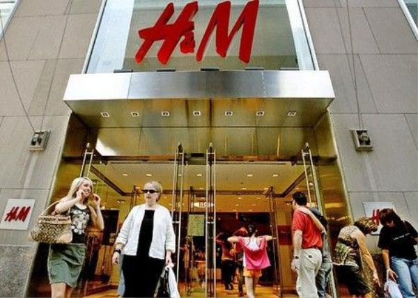Cửa hàng H&M ở khu mua sắm Soho.