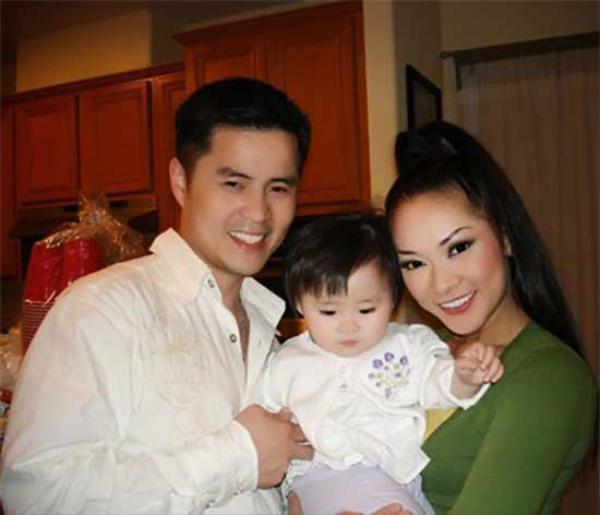 Gia đình nhỏ của Như Quỳnh.
