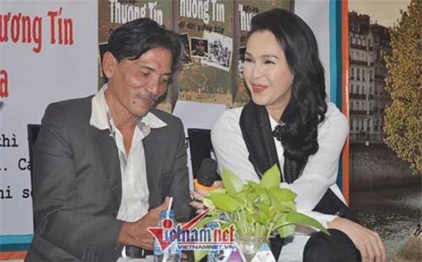 Thương Tín và Diễm My trong ngày hội ngộ hôm 5/1.
