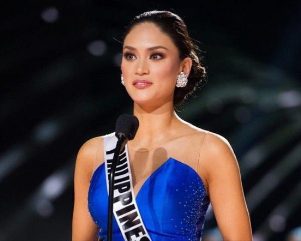 Hoa hậu Hoàn vũ 2015 sở hữu câu trả lời tốt, giúp cô vượt qua đại diện Colombia.