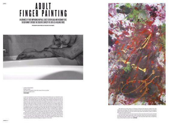 Những bức ảnh khác của Lady Gaga trên tạp chí. Nữ ca sĩ cũng tham gia khâu biên tập cho số mới của W.
