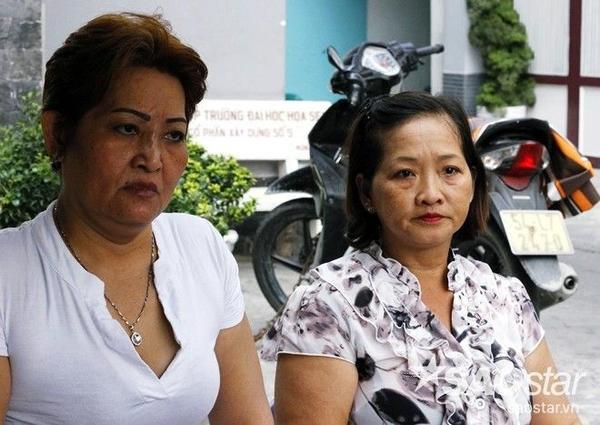 Cô Ngà và cô Trinh - người bị tung tin đồn thất thiệt đang kể lại cho SaoStar nghe tường tận sự việc mấy ngày qua.