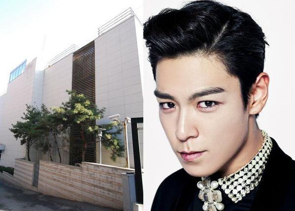 Thành viên cá tính T.O.P của nhóm Big Bang là ông chủ của một căn villa sang trọng, ngụ tại làng Hannam dong UN đặt bên cạnh sông Hàn. Năm 2011, nam ca sĩ mua cơ ngơi này với giá 300.000 USD. Nhờ hệ thống an toàn hàng đầu, hàng xóm của T.O.P trong khu villa là những ngôi sao trong làng giải trí.