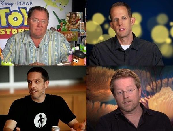 """Bốn """"quái kiệt"""" của Pixar"""