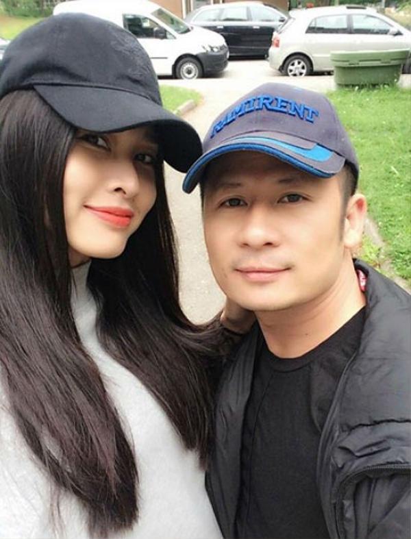 Hoa hậu Dương Mỹ Linh và ca sĩ Bằng Kiều.