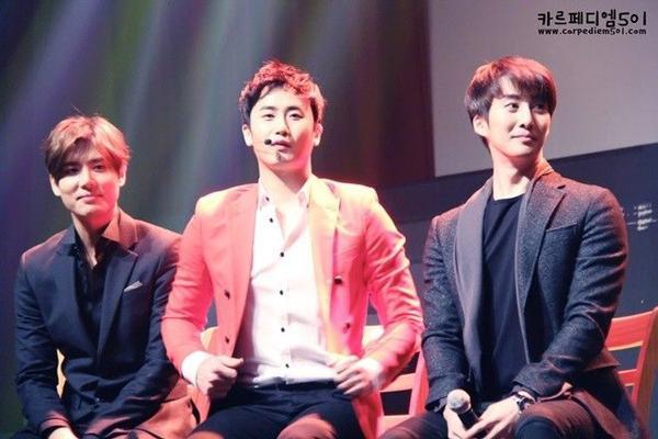 SS301 - Kim Hyung Joon, Heo Young Saeng, Kim Kyu Jong.
