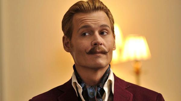Diễn xuất và bộ ria mép thảm họa của Johnny Depp