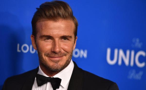 David Beckham tại sự kiện UNICEF Ball mới đây.